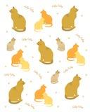 Album per ritagli del gattino di Kitty illustrazione vettoriale