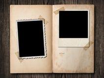 Album photos de cru. Photographie stock libre de droits