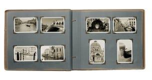 Album photos de Venise Photo stock