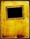 Album pour la photo avec le journal antique Photographie stock