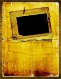Album pour la photo avec le journal antique Photographie stock libre de droits