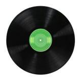 Album record sopra priorità bassa bianca Immagine Stock