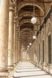 Album van de moskee van Mohammed Ali in Kaïro Stock Afbeeldingen