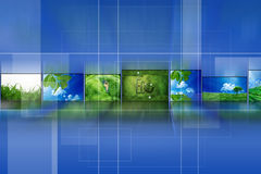 Album vert Images libres de droits