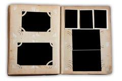 album wzywa fotografia rocznika Obraz Stock