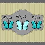 albumowa motylia strona Royalty Ilustracja