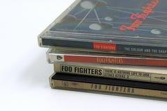 Albums de CD de Foo Fighters image libre de droits