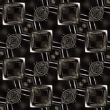 Albums de métiers d'invitations de Grey Ikat Pattern Designers Websites illustration de vecteur