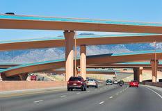 albuquerque autostrady zdjęcia royalty free