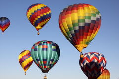 Albuquerque-Ballon-Fiesta Stockfotos