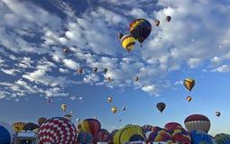 Albuquerque Ballon Fiesta. Hot Air Balloons at Albuquerque Balloon Fiesta Stock Photography