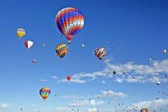 Albuquerque Ballon Fiesta. Hot Air Balloons at Albuquerque Balloon Fiesta Stock Photo
