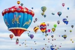 Albuquerque-Ballon-Fiesta Lizenzfreies Stockfoto