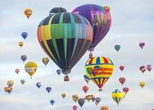 Albuquerque-Ballon-Fiesta Stockfotos