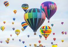 Albuquerque-Ballon-Fiesta Lizenzfreie Stockfotos
