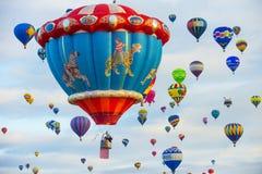 Albuquerque-Ballon-Fiesta Stockfotografie