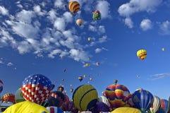 albuquerque ballone fiesta obraz stock