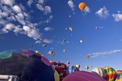 albuquerque ballone fiesta obrazy stock