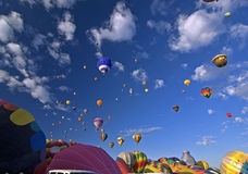 albuquerque ballone fiesta zdjęcia royalty free