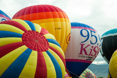 Albuquerque Balloon Fiesta Launch 2015 Stock Photography