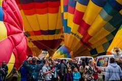 Albuquerque Balloon Fiesta Launch 2015 Stock Photo