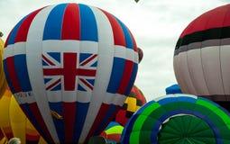 Albuquerque Balloon Fiesta Launch 2015 Royalty Free Stock Photography