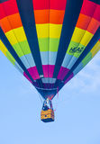 Albuquerque Balloon Fiesta. ALBUQUERQUE, NEW MEXICO - OCT 11: Balloon fly over Albuquerque on October 11, 2014 in Albuquerque, New Mexico. Albuquerque balloon Royalty Free Stock Image