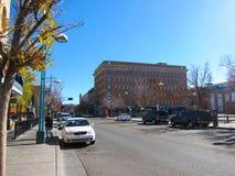 Albuquerque. Central Avenue in Downtown Albuquerque, New Mexico Stock Photos