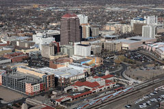 Albuquerque do centro foto de stock