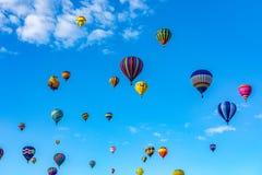 Albuquerque gorącego powietrza balonu fiesta 2016 fotografia stock