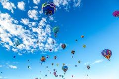 Albuquerque gorącego powietrza balonu fiesta 2016 obrazy royalty free