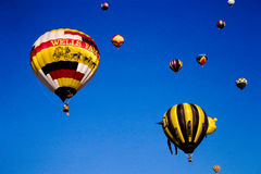 Albuquerque Hot Air Balloon Festival Royalty Free Stock Photos