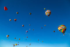 Albuquerque Hot Air Balloon Fiesta 2016 Royalty Free Stock Photos