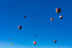 Albuquerque Hot Air Balloon Fiesta 2016 Stock Photography