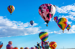 Albuquerque Hot Air Balloon Fiesta 2016 Royalty Free Stock Image