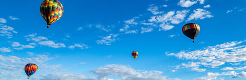 Albuquerque Hot Air Balloon Fiesta 2016 Stock Image