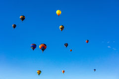 Albuquerque Hot Air Balloon Fiesta 2016 Royalty Free Stock Photo