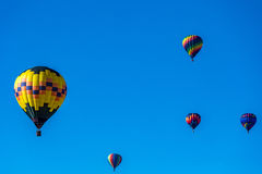 Albuquerque Hot Air Balloon Fiesta 2016 Stock Photos