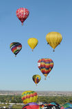 Albuquerque-internationale Ballon-Fiesta 2011 Stockfoto