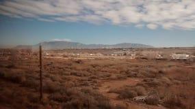 Albuquerque. Mountains near alberquerque Stock Images