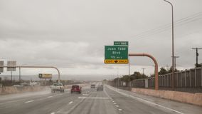 Albuquerque, New México, salida I-40 para Juan Tabo Blvd imagen de archivo libre de regalías