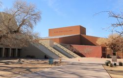Albuquerque, New Mexico: National Hispanic Cultural Center. The National Hispanic Culture Center`s 20-acre campus is located along the Rio Grande in Albuquerque Royalty Free Stock Photo
