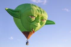 Yoda hot air ballon at Albuquerque International Balloon Fiesta