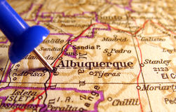 Albuquerque, New-Mexiko Lizenzfreies Stockfoto