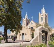 ALBUQUERQUE, New Mexiko im Oktober 2018: San Felipe De Neri Parish Stockfotografie