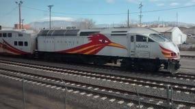 Albuquerque, station de train de nanomètre image stock