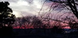 Albuquerque sunset royalty free stock photos