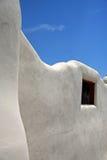 Albuquerque wall. White wall in Albuquerque city Stock Photography