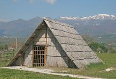 Alburni hut Stock Image