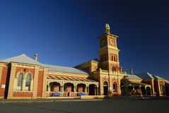 Albury Train Sation royalty free stock image